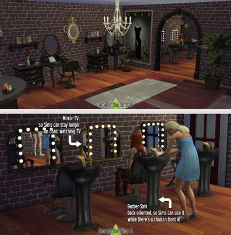 sims 4 cc beauty salon around the sims 4 beauty salon 2 sims 4 downloads