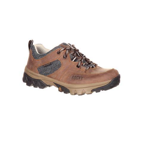 waterproof oxford shoes rocky rks0297 endeavor point womens brown waterproof