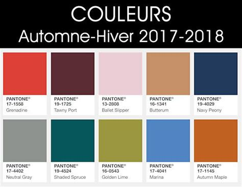 7 Winter Color Trends by Afbeeldingsresultaat Voor Planche Tendance Mode 2018