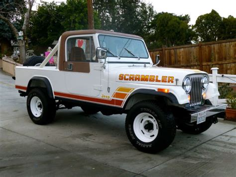 jeep scrambler 2014 restored 1984 jeep scrambler bring a trailer