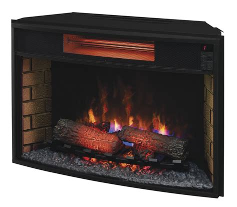 32 electric fireplace insert classic 32ii310gra infrared spectrafire plus insert with safer 32 inch