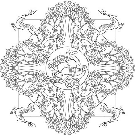 nature mandala coloring books coloring pages mandala coloring