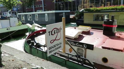 woonboot te koop in groningen geziena youtube - Woonboot Groningen Kopen