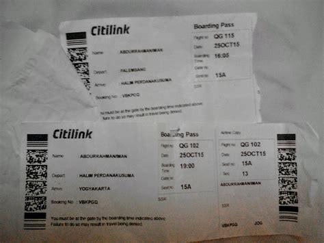 citilink boarding pass citilink terlantarkan penumpang lagi oleh iman abdurrahman