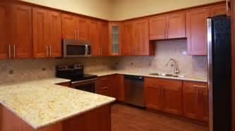 cherry shaker kitchen cabinets double shaker cherry renton cabinet and graniterenton