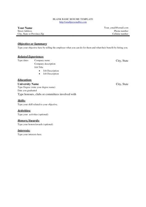 biodata format engineering freshers simple blank bio data format resume template exle