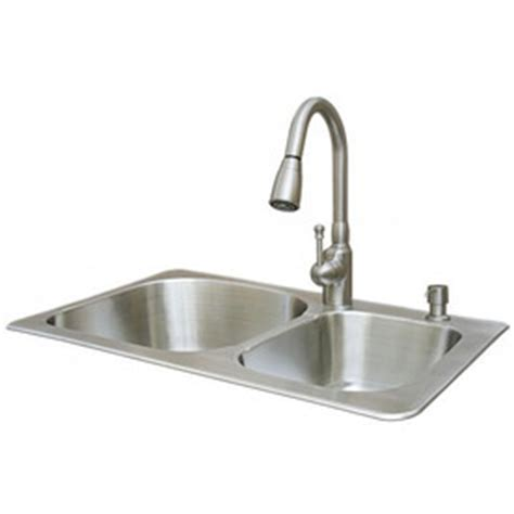american standard kitchen sink faucets shop american standard sink 2 go 18 basin