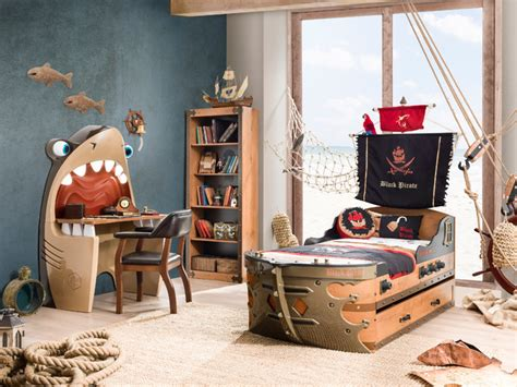 beach style beds pirate ship bedroom beach style kids miami by