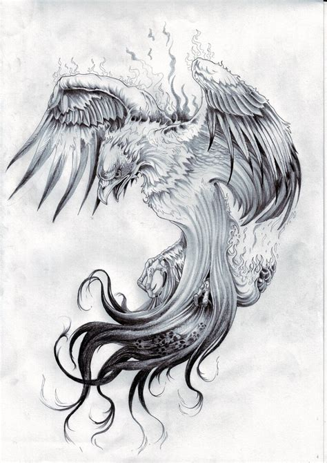 dragon and phoenix tattoo designs gallery ideas by melanie ritchie