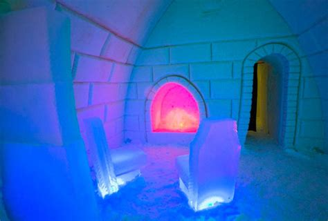 arctic snow hotel looking for northern lights spotter in