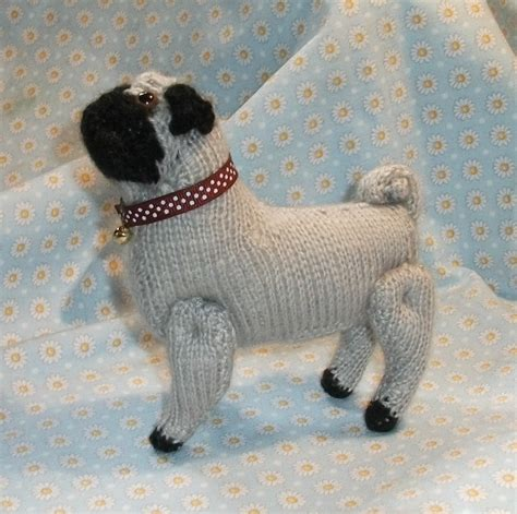 pug knitting pattern pugs on pugs pug and shops