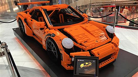porsche life size full scale porsche 911 gt3 rs brings a kit to life