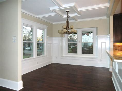 Coffered Ceiling Dining Room by Dining Room With Coffered Ceiling Vision Pointe Homes