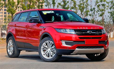 land wind x7 land rover sues landwind evoque copyright