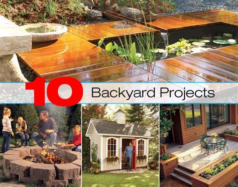 backyard experiments 10 backyard project ideas for a great summer diy for life