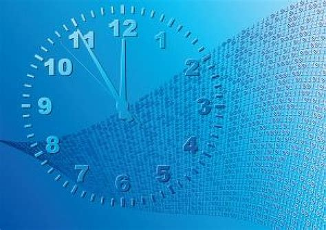 Time Blue by Abstract Blue Background Time Photo Free