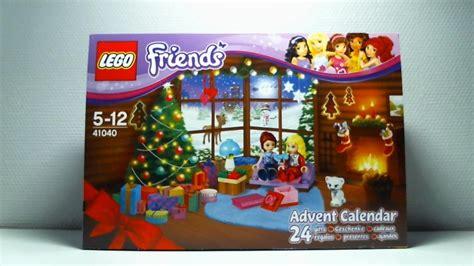 Calendrier De L Avent Lego Friends 2014 Calendrier De L Avent Lego Friends Jour 1 2014
