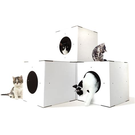 cat house designs indoor white cat house 4 pack modular cat house cat houses indoor