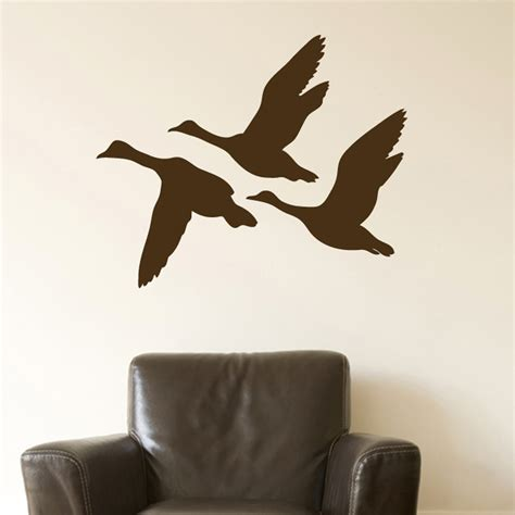 duck wall stickers flying duck decals memes