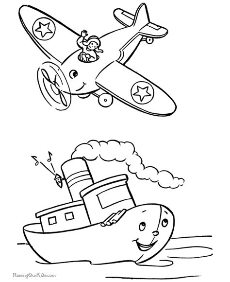 airplane coloring pages for toddlers airplane coloring pages for az coloring pages