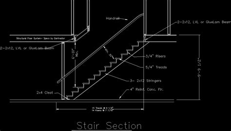 staircase section dwg file stair detail dwg section for autocad designs cad