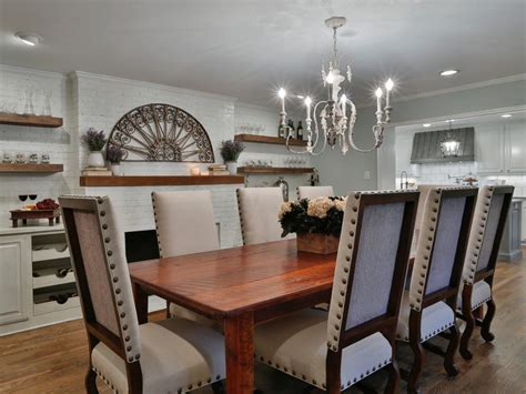 Dining Room Tables Hgtv Creating Country In The Suburbs Hgtv S