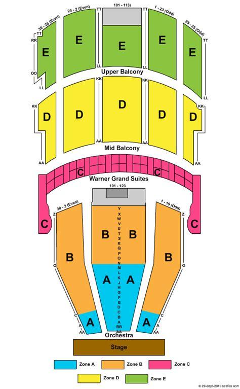 warner theater seating chart warner theater seating car interior design