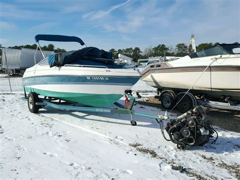 boat lot 1994 four winds boat for sale at copart brookhaven ny lot