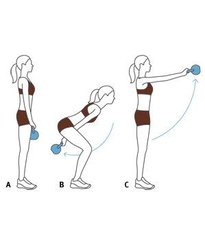 kettle swing exercise move 1 swing 6 effective kettlebell exercises real simple