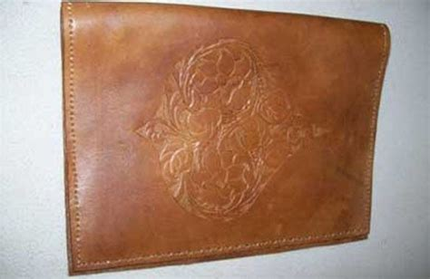 Handmade Leather Photo Album - buy a handmade custom leather photo album with