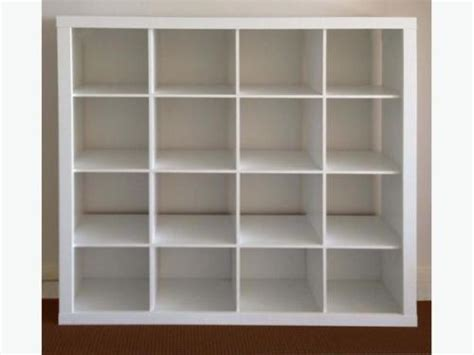 ikea white expedit 16 4x4 cube shelving storage unit bookcase not kallax in angel london