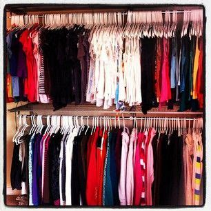 How To Organize Your Closet By Color by 17 Best Images About Closets On Walk In Closet