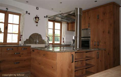 Küche Eiche vom Schreiner aus Oberbayern