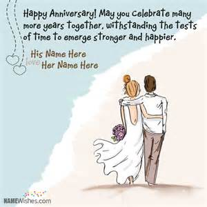 best wedding anniversary wishes name wishes