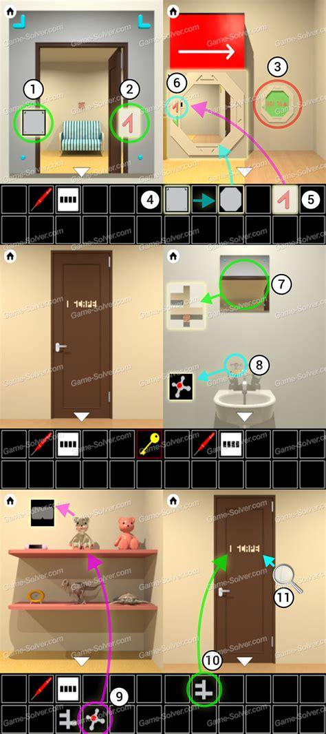 Escape Room 3 Level 10 by Lift Room Escape Walkthrough Part 3 Solver