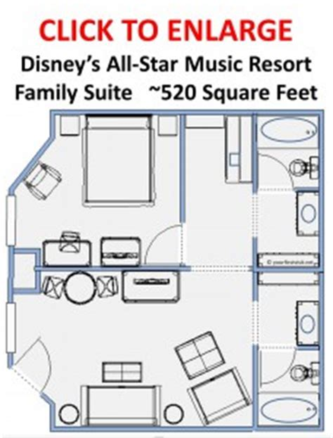 all family suite floor plan family suites the dis disney discussion forums