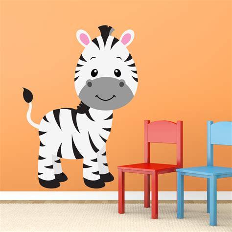 Wandtattoo Zebra Kinderzimmer by Kinderzimmer Wandtattoo Zebra Zoe