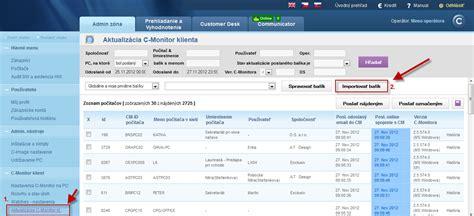 Monitor Update Customer Monitor Update