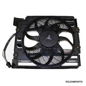 bmw e39 528i 540i pusher auxiliary cooling fan 97 98