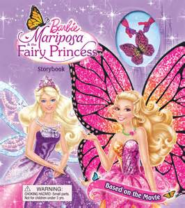barbie mariposa amp fairy princess storybook book barbie official publisher