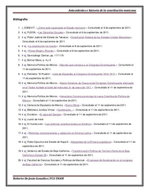 antecedentes del articulo5 antecedentes e historia de la constitucion mexicana