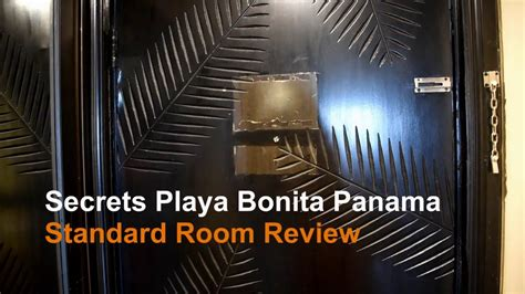 secrets playa bonia panama standard room review youtube