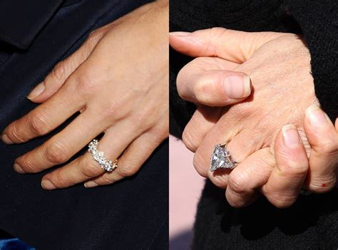 5 Celebrities Who Have Upgraded Their Engagement Rings   E