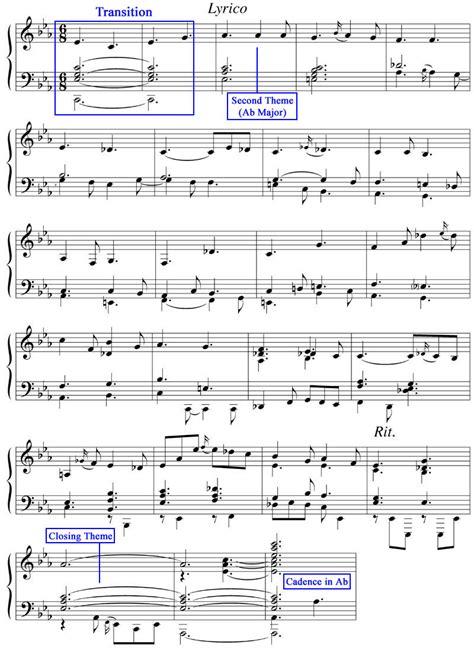 sonata sections justin rubin sonata form