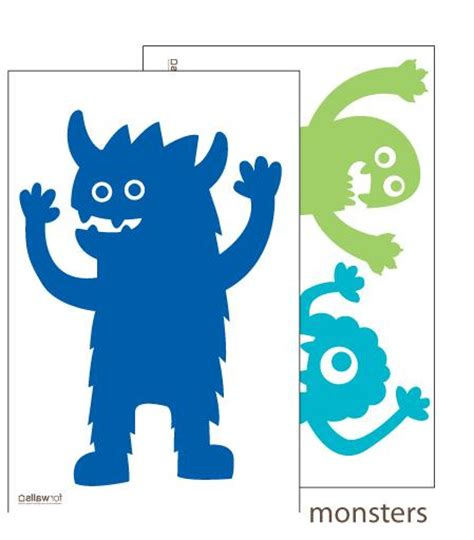 Green Monster Aufkleber by Aufkleber Monster Wandtattoos Babyshop