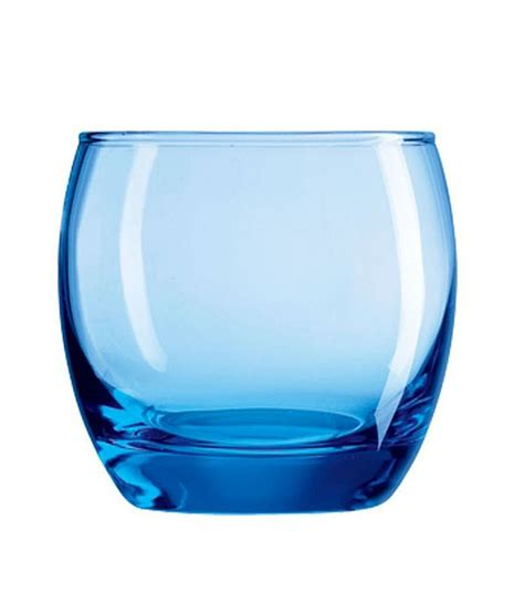 luminarc blue glass 350 ml salto high ball ice blue