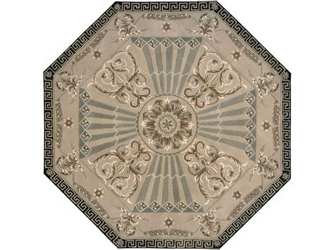 Octagonal Area Rugs by Nourison Versailles Palace 6 Octagon Beige Area Rug