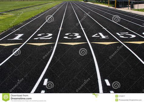 racing lanes stock image image  merging  parallel