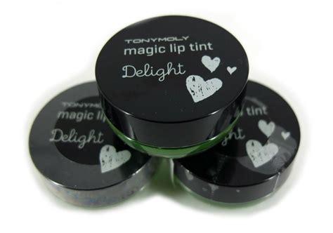 Harga Tony Moly Delight Magic Lip Tint review tony moly delight magic lip tint green apple