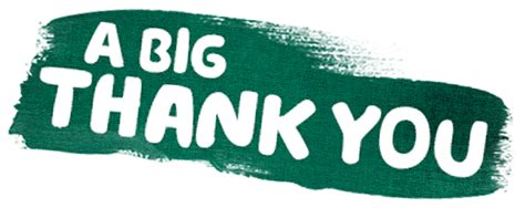 A Great Big Thankyou by A Big Thank You World S Coffee Morning